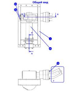 МБУ125.11.00.000В-01 — Гидроцилидр