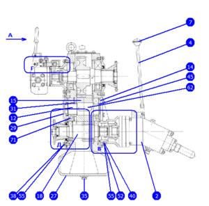 АР32/40.135.00.000 — Редуктор с насосами