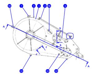 АР32/40.145.00.000 — Редуктор цепной
