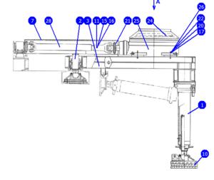 А60/80.10.00.000Б — Установка бурового ротора