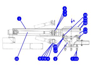 А60/80.11.00.000А-01 — Установка бурового ротора (Р-410)