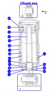 А50М.24.00.000-02 — Домкрат гидравлический